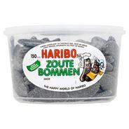 Haribo Zoute Bommen Drop 150 Pièces 1350 g