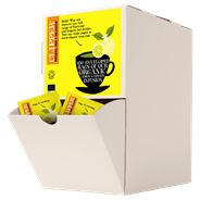 Clipper Organic wild lemon & ginger infusion bio 250 stuks