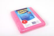 Sorbo Prof microvezeldoek roze 5 stuks