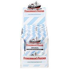 Fisherman's Friend Strong mint suikervrij 24 x 25 gram
