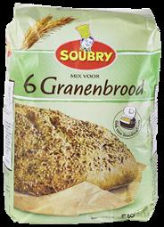 Soubry Mix voor 6-granenbrood 5 kg