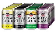 Royal Club Assortitray blik 24 x 33 cl