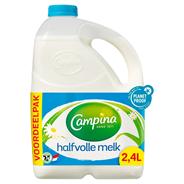 Campina Halfvolle melk 2,4 liter