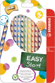 Stabilo Easycolor Kleurpotloden links 12 stuks
