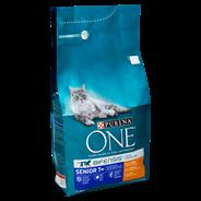 PURINA ONE SENIOR Droog kattenvoer Kip/Volkoren Granen 1.5kg Stazak