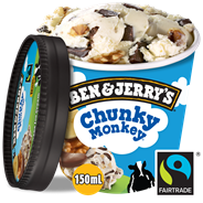 Ben & Jerry's Shortie Chunky monkey 150 ml