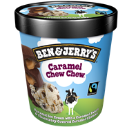 Ben & Jerry's Shortie caramel chew chew Max Havelaar 150 ml