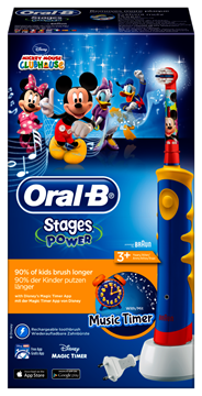 Oral-B Stages Oplaadbare elektrische tandenborstel Mickey