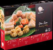 Dim Sum Chef Poultry mix 40 stuks 720 gram