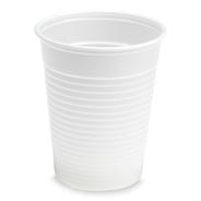Aro Plastic drinkbeker wit 180cc 100 stuks