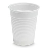 Aro Plastic drinkbeker wit 180cc 30 x 100 stuks