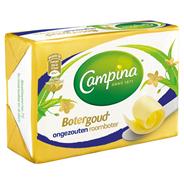 Campina Botergoud roomboter ongezouten 250 gram