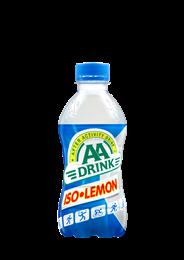 AA Drink Iso lemon PET 24 x 330 ml