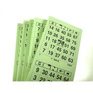 Bingoblokken 5 x 100 vel enkel