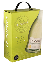 J.P. Chenet Colombard-Sauvignon Blanc bag in box 4 x 3 liter