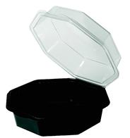 Depa Octaviewbox zwart 19 cm x 16 cm 25 stuks