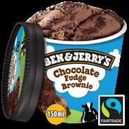 Ben & Jerry's Shortie Chocolate fudge brownie 150 ml