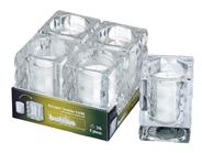 Bolsius Relight Houder kubus 4 stuks