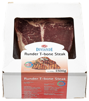 Diviande Runder T-bone Steak 3x500g