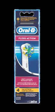 Oral-B FlossAction Opzetborstels 4 stuks