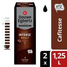 Douwe Egberts Cafitesse Koffie Intense Roast Utz 1,25l Pak