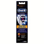 Oral-B 3D white Opzetborstels 4 stuks