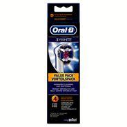 Oral-B 3DWhite Power Opzetborstels 4 Stuks