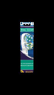 Oral-B Dual clean Opzetborstels 2 stuks