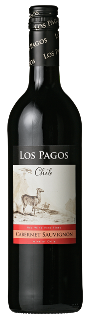 Los Pagos Cabernet Sauvignon 6 x 750 ml