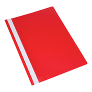 Sigma Snelhechtermappen A4 rood 25 stuks