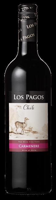 Los Pagos Carmenère 6 x 750 ml