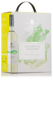 Montalto Cataratto en Viognier bag in box 4 x 3 liter
