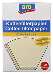 Aro Koffiefilters bruin nr 2 100 stuks