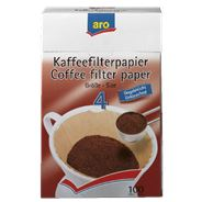 Aro Koffiefilter bruin nr. 4 100 stuks
