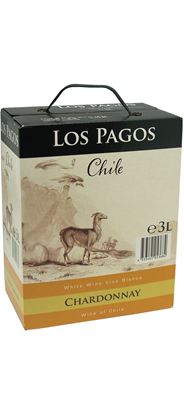 Los Pagos Chardonnay bag in box 4 x 3 liter