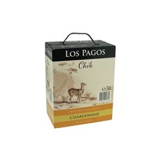 Los Pagos Chardonnay bag in box 4 x 3 liter