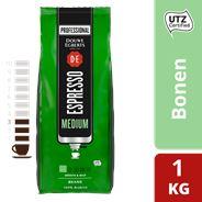 Douwe Egberts Espresso Koffiebonen Medium Roast Utz 1000g