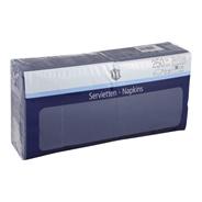 H-Line Servetten 2-laags33x33cm blauw 250 stuks