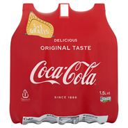 Coca-Cola 1,5 L PET 6-Pack