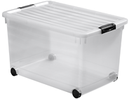 Curver Click'n fit Multiboxx 60 liter transparant