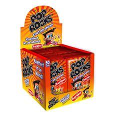 Pop Rocks Knetter snoep aardbei 50 stuks