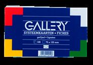 Gallery 100 Kaarten 7,5X12cm