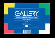 Gallery 100 Kaarten 10X15cm A6