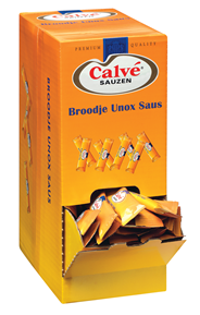 Calvé Broodje Unox saus sticks 200 x 15 ml