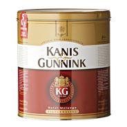 Kanis & Gunnink Hotel Melange Koffie Grove Maling Blik 4x1250g