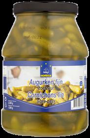 Horeca Select Augurken fijn zoetzuur 2300 gram
