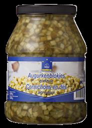 Horeca Select Augurkenblokjes zoetzuur 2300 gram
