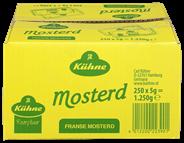 Kühne Fanse mosterd 250 x 5 gram