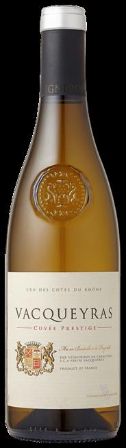 Vacueyras Cuvee Prestige Blanc 750 ml