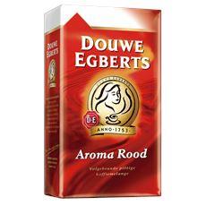 Douwe Egberts Aroma rood snelfiltermaling 6 x 500 gram